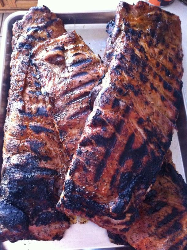 Dry-rub BBQ Ribs