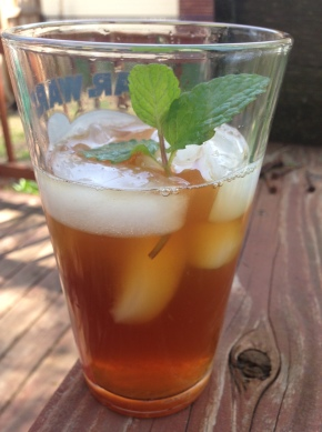 Minty Lemon Iced Tea